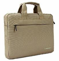 13'' 13.3'' Inch Laptop Case for Women Fashion Laptop Bag Khaki - $33.59
