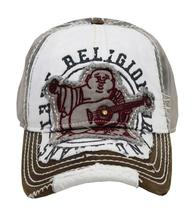 True Religion Men's Premium Vintage Distressed Buddha Trucker Hat Cap TR1101 image 14