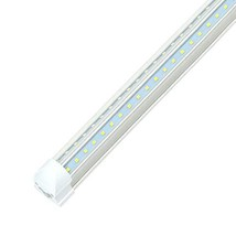 JESLED 8FT LED Shop Light Fixture, 72W 7200LM, 5000K Daylight White 1-Pack - $31.90