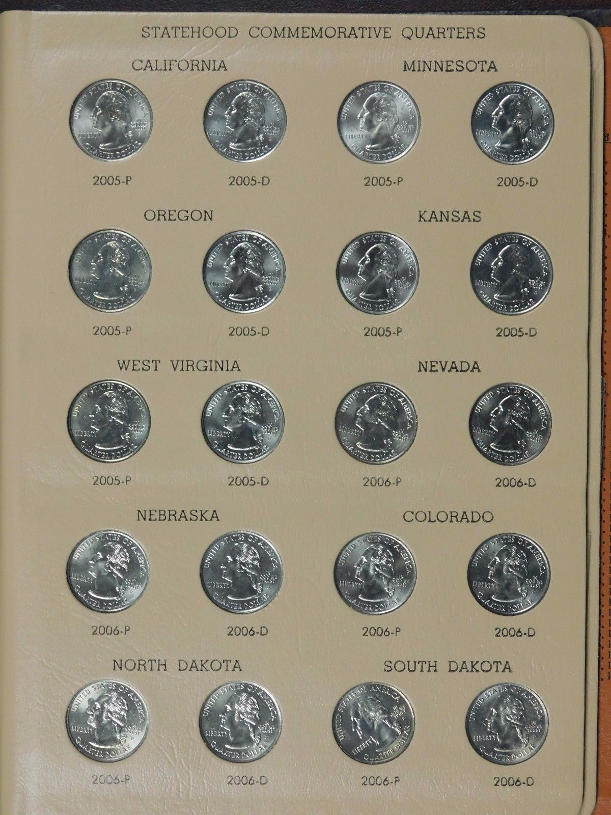Statehood Quarters Commemorative