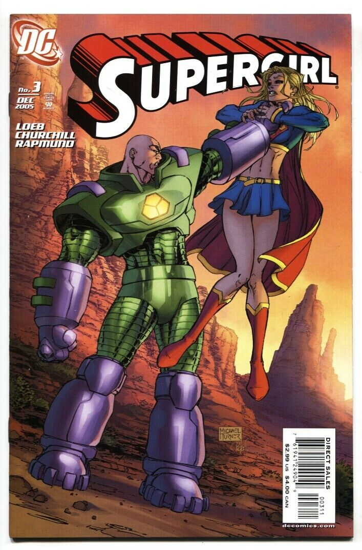 SUPERGIRL #3 2005 1st appearance of Dark Supergirl