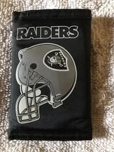 Las Vegas Raiders  Nylon Trifold Wallet - $6.05