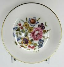 """Royal Worcester Fine Bone China England Floral Butter Tea Trinket 4"""" Dish - $5.34"""