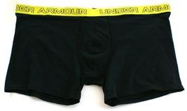 """Under Armour Black Cotton Stretch 6"""" Boxerjock Boxer Brief Underwear  Men's NWT - $18.74"""