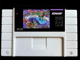 Teenage Mutant Hinja Turtles: Turtles in Time - Video Game for SNES -NTS... - $26.34