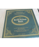 The Basic Library Of The World's Greatest Music No. 6 Record Album  - $5.00