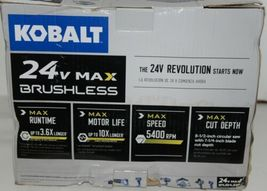 KOBALT 0672830 Circular Saw 24V Max Brushless TOOL ONLY image 3