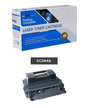 Inksters Compatible Black Toner Cartridge Replacement for HP 64A CC364A ... - $42.91