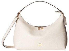 Coach Pebbled Leather East/West Celeste Convertible Hobo - £153.61 GBP