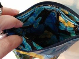 California Poppies - 3 Pocket Zippered Crossbody Bag image 7
