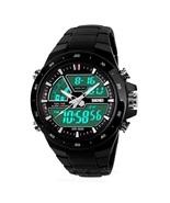 SKMEI 1016 Men's Waterproof Analog + Digital Sports Watch - Black new 2020 - $22.99