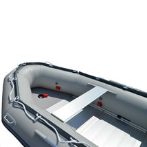 BRIS 14.1 ft Inflatable Boats Fishing Raft Power Boat Zodiac Dinghy Tender Boat image 10