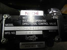 NACHI SS-G03-A3X-FR-E115-E21 Directional Control Valve image 2