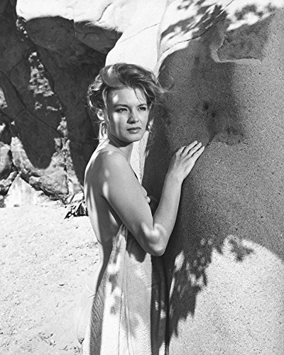 Primary image for Angie Dickinson Rio Bravo B&W Print 16X20 Canvas Giclee
