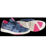 WOMENS ETNIES SCOUT RUNNING CROSS TRAINING SHOES NIB NAVY BLUE PINK - $41.99