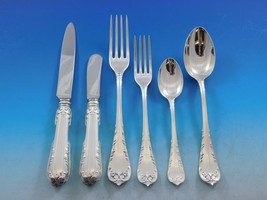 Fleury by Fortunoff Italy Sterling Silver Flatware Set Service Dinner 42... - $4,945.05