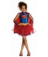 Kids' Supergirl DC Super Hero Tutu Dress Halloween Costume Medium 8-10 R... - £21.51 GBP