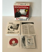 Dragon Naturally Speaking 7 Essentials Software Headset Scansoft New Ope... - $29.99