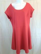 Old Navy Short Sleeve Summer Dress Women's XL Tall New Red Dress Z30 - $16.63