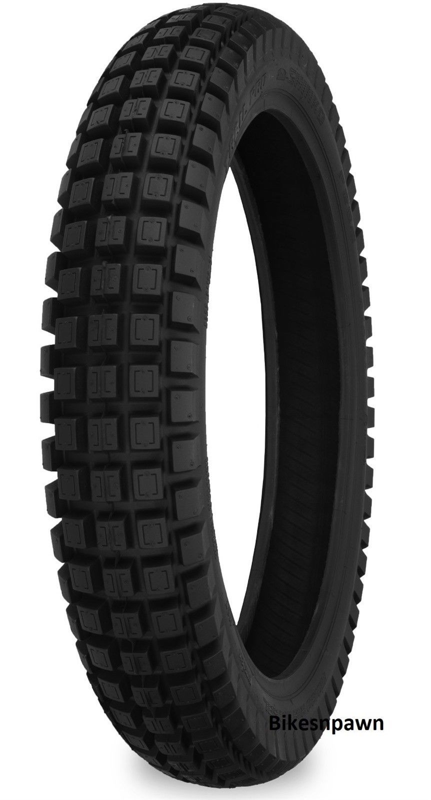 New Trail Pro 255 120/80R-19 Rear Trials Soft Radial DOT Motorcycle Tire M 65