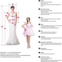Luxury One Shoulder Mermaid Wedding Dress Detachable Train Long Sleeves Lace App image 7