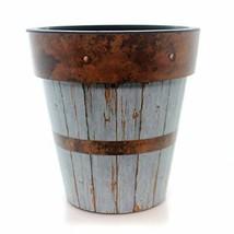 "Studio M Garden Blue Wood Plank 15"" Art Planter - €44,30 EUR"