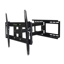 MegaMounts Full Motion Wall Mount with Bubble Level for 26 - 55 Inch LCD... - $56.55