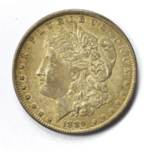 1889 $1 Morgan Silver One Dollar VAM 28A Pitted Reverse Philadelphia Hit... - $49.49
