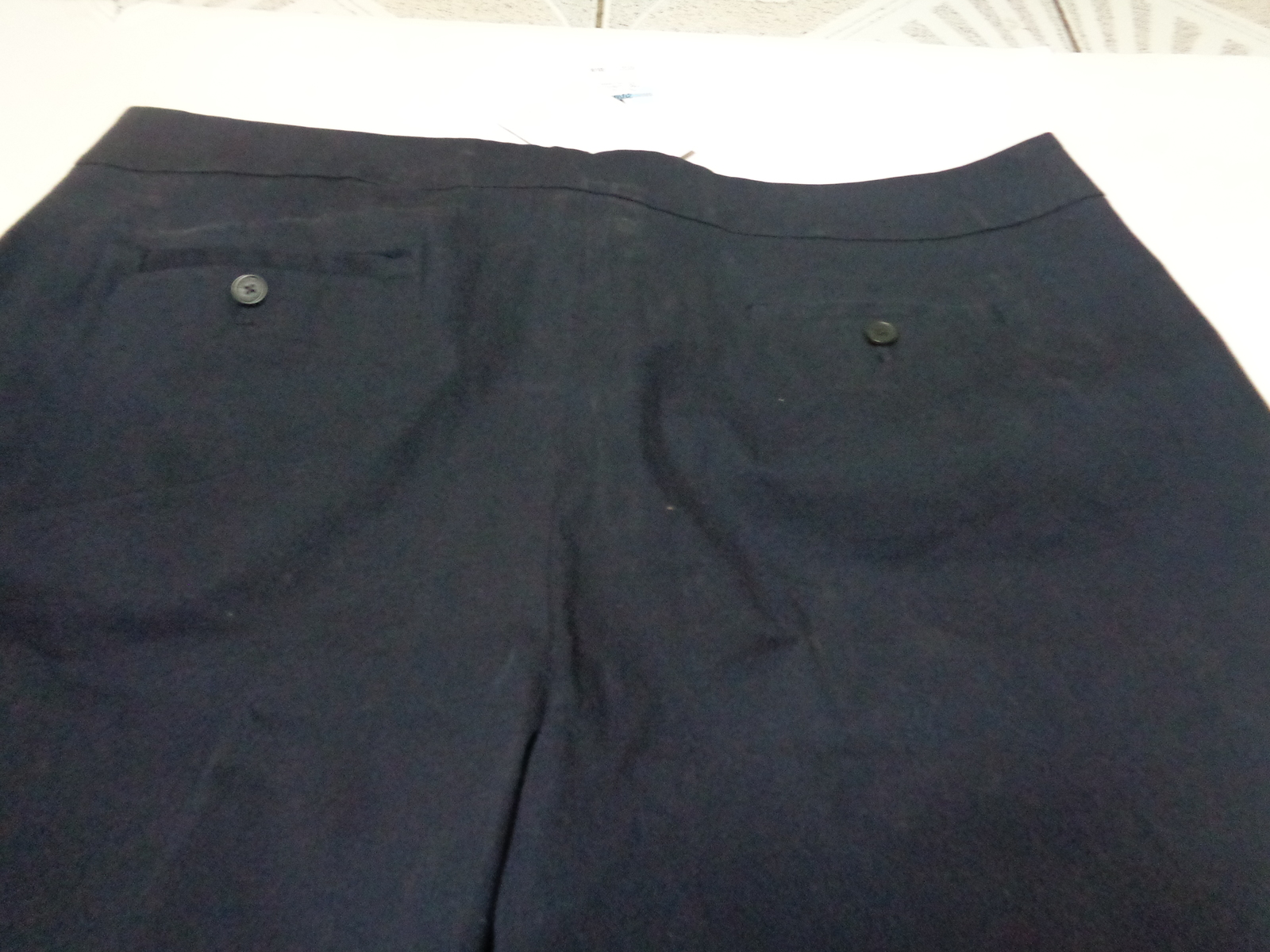 Jones New York Women's Navy Blue Shorts NWT SZ 20 Stretch