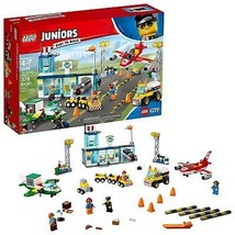 LEGO Juniors City Central Airport 10764 Building Kit 376 Piece - $56.79