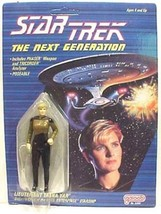 Star Trek: The Next Generation Galoob Tasha Yar Action Figure 1988, NEW MOC - $11.64