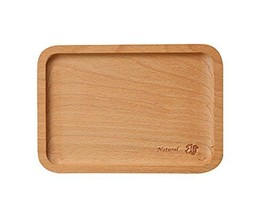 Environmental Wooden Safe Tray/Baby Tableware/Utensils for Baby(Squirrel)