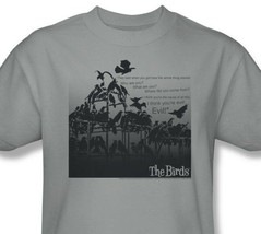 The Birds T-shirt Alfred Hitchcock retro classic horror movie cotton tee UNI232 image 1