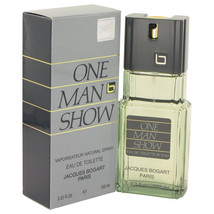 ONE MAN SHOW by Jacques Bogart Eau De Toilette Spray 3.3 oz - $20.95