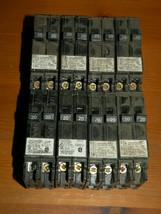 (8) Siemens 20A 2 Single Pole Tandem Circuit Breakers Q2020 - $53.04