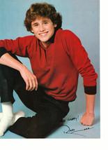 Rad Daly Scott Baio teen magazine pinup clipping white socks sitting down cutie