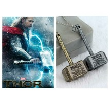 Thor Hammer Necklace, Mjolnir, Bronze or Silver - $4.99
