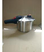 NuWave 31201 Stainless Steel Pressure Cooker, 6.5 Quart, Silver/Black un... - $33.99