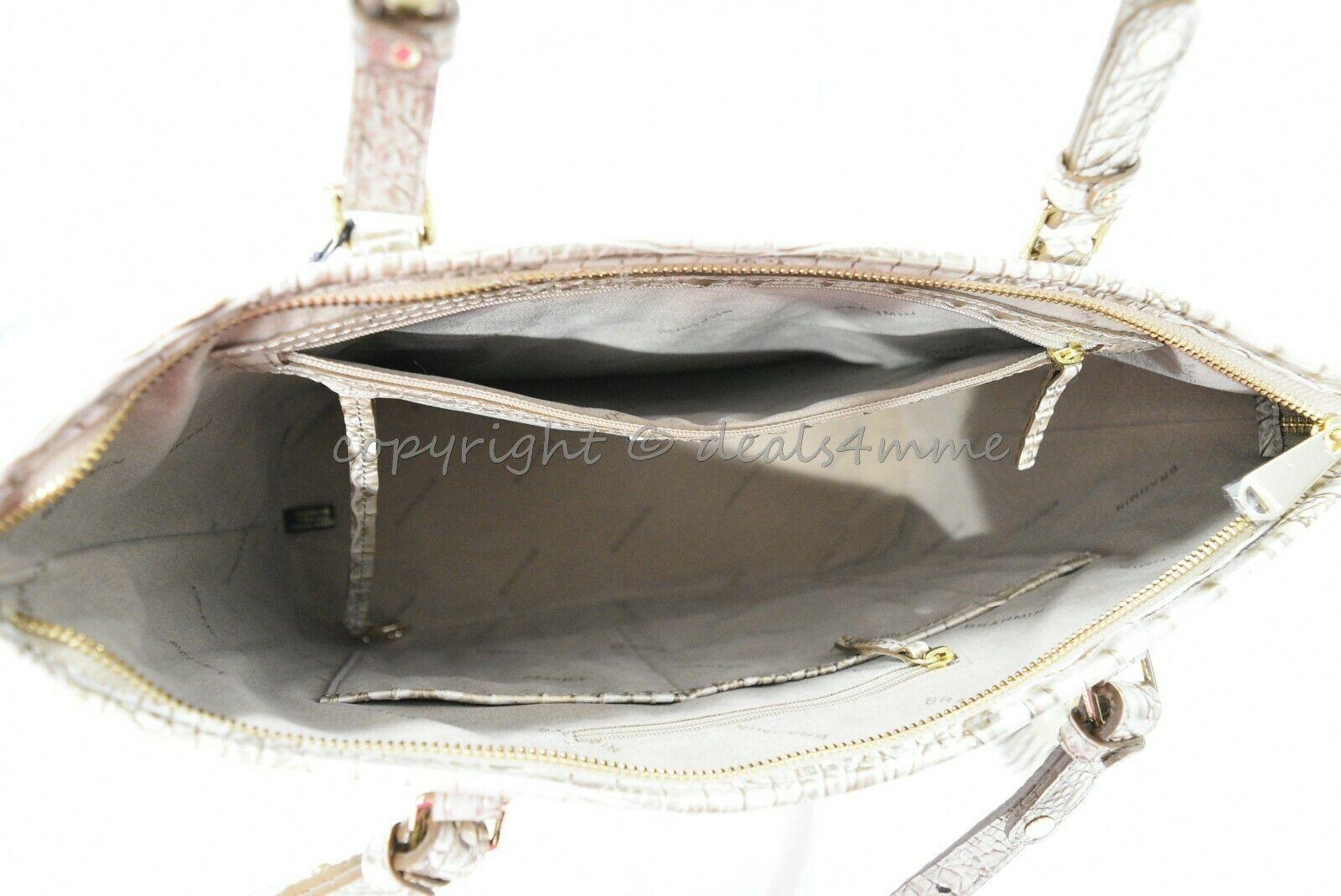 NWT Brahmin Medium Asher Leather Tote/Shoulder Bag Sugar Cane Melbourne image 6