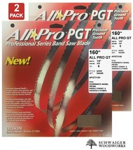 """Olson All-Pro Band Saw Blades 160"""" x 1/4"""", 6TPI for PM1800, Grizzly G063... - $54.99"""