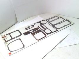 Wood Grain Interior Dash Trim Kit 12-pc for 1997-1998 Mazda Protege Sport - $84.15