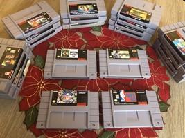 Original Retro Super Nintendo Games (Madden 94 and 97, NFL Football) - $6.00