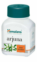 Himalaya Arjuna (Terminalia Arjuna) Wellness 60 Tablets Ayurveda Herbal ... - $14.84+