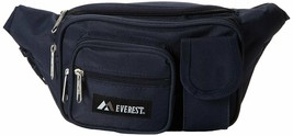 Everest Signature Fanny Pack Set of 2 adjustable waist and a Velcro pocket - $14.35+