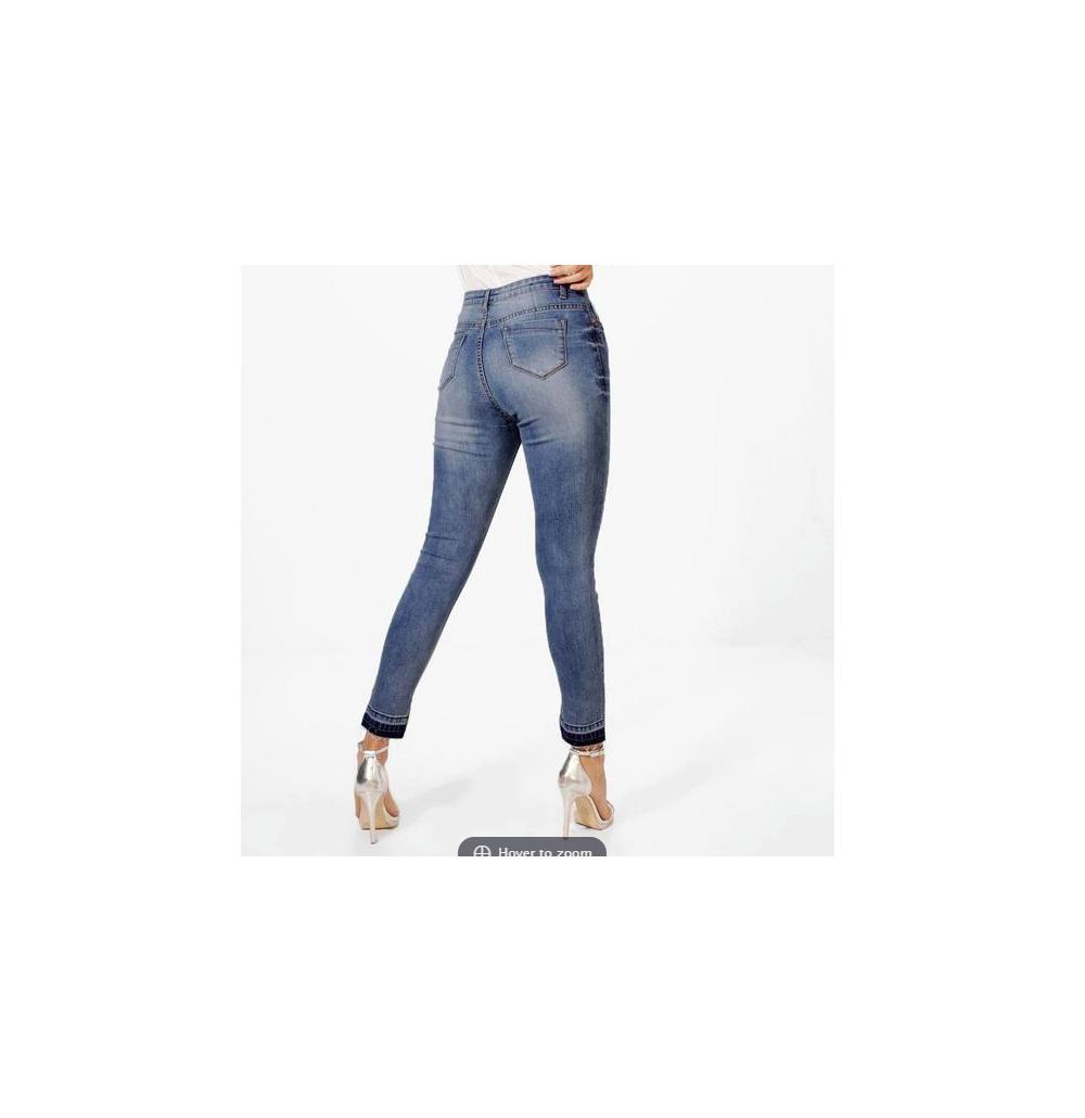 Women's Jessie High Waist Lete Down Skinny Jeans Size US 6 NWT