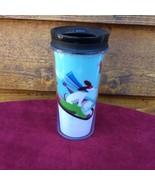 STARBUCKS  2011 Boy Dog Sled Squirrel Christmas Hologram Tumbler Travel ... - $10.44