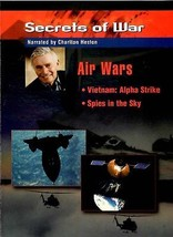 SECRETS OF WAR AIR WARS  VIETNAM ALPHA STRIKE / SPIES IN THE SKY DVD - $9.95