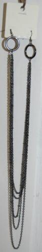 Cyrus Earlaces SNE30095 Black Lead Nickel Free Earlaces