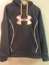 New Under Armour Womens UA Gray Storm1 Loose Fit Pullover Fleece Hoodie ... - $58.95