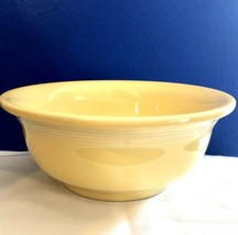 "FIESTA  Serving Fruit Or Salad Bowl PALE YELLOW 8-7/8"" - $12.77"